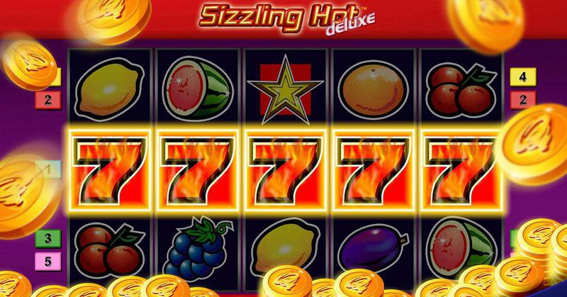 77777 Games Free Sizzling Hot Deluxe